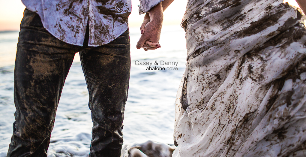 Casey & Danny – Trash the Dress at Abalone Cove