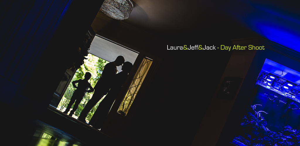Laura & Jeff & Jack – a Day After Shoot in Central Phoenix