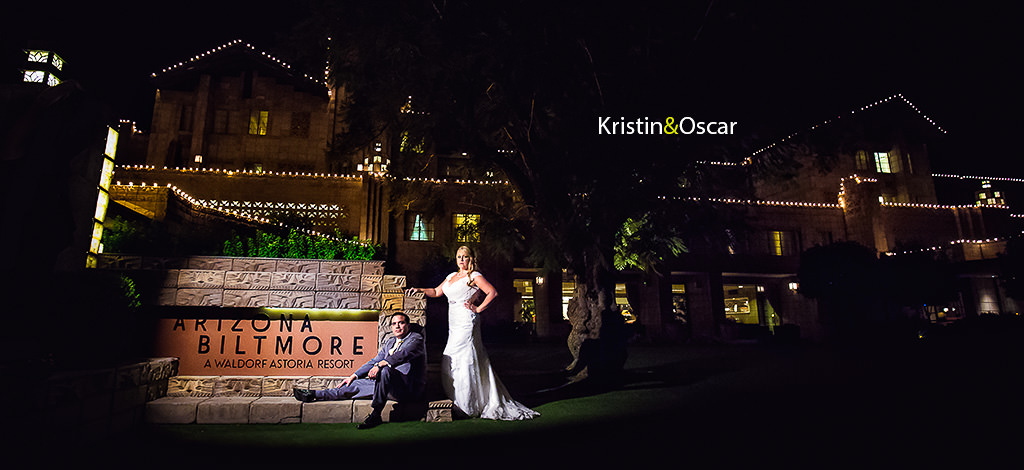 Kristin & Oscar – wedding at the Arizona Biltmore