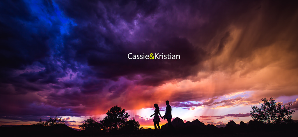 Cassie & Kristian – Engagement in Sedona