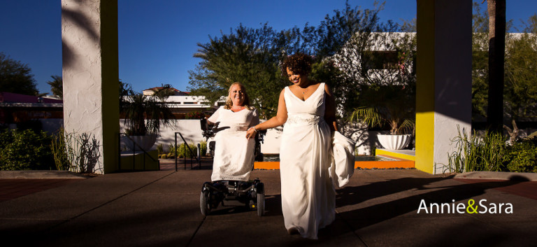 Read more about the article Annie & Sara – wedding at The Saguaro