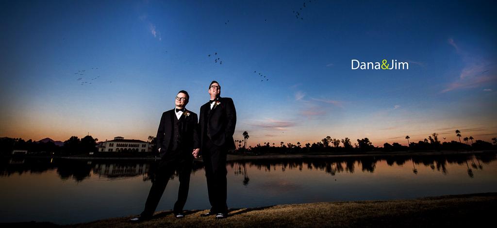 Dana & Jim – New Year's Eve Wedding at the McCormick Scottsdale Resort