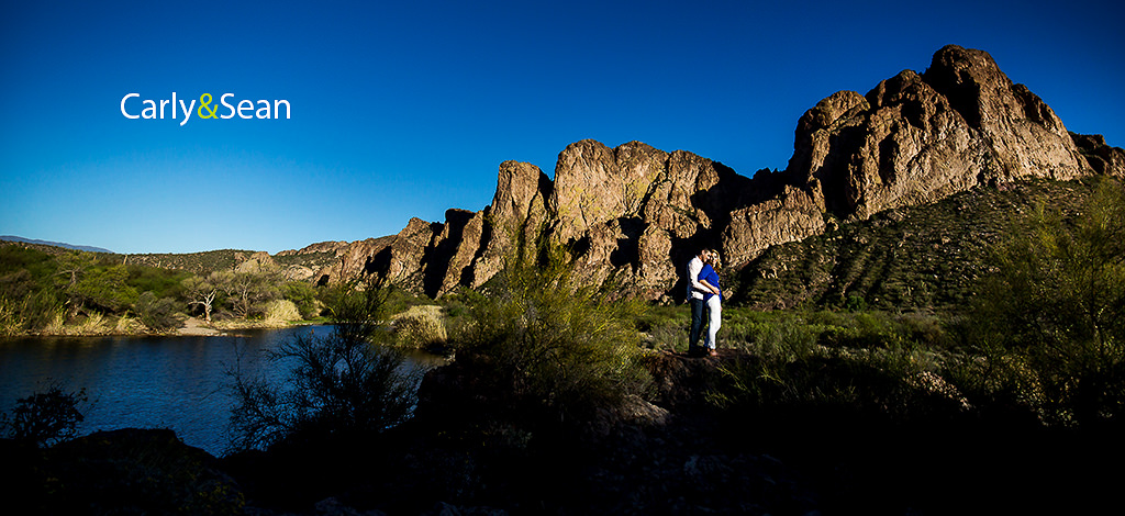 Carly & Sean – Engagement at Lower Salt River