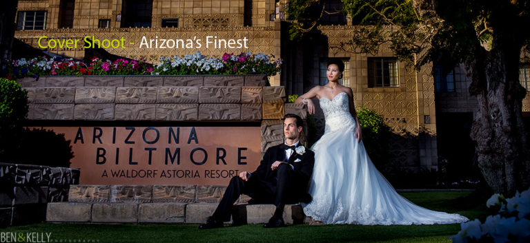 Cover Shoot at The Arizona Biltmore