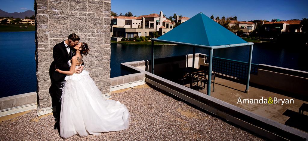 You are currently viewing Amanda & Bryan – wedding at the Hyatt Regency Scottsdale
