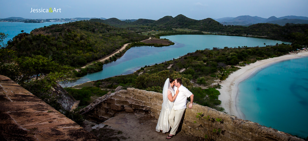 Jessica & Art – wedding in Antigua, West Indies