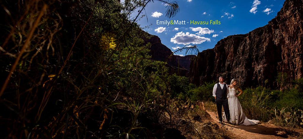 Emily & Matt – Grand Canyon Honeymoon at Havasu Falls