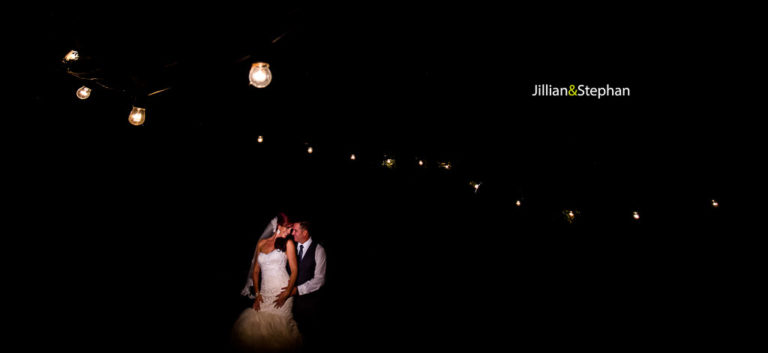 Jillian & Stephan – wedding at Sassi