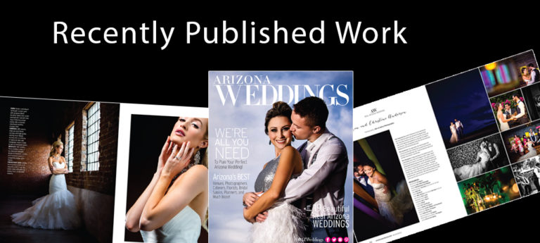 Recently Published Work – Phoenix Bride & Groom Magazine