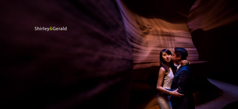 Shirley & Gerald – Pre Wedding at Antelope Canyon & Horseshoe Bend